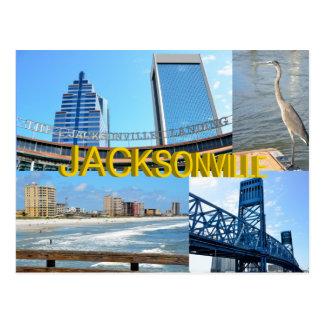 Escenas de Jacksonville, la Florida Tarjetas Postales
