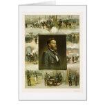 Escenas de la carrera de Grant por L. Prang & Comp Tarjeton