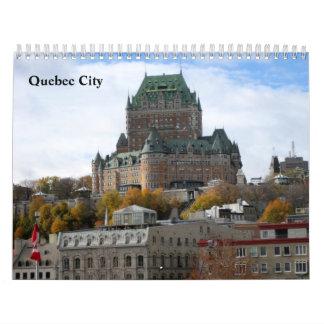 Escenas de la ciudad de Quebec Calendarios