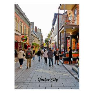 Escenas de la ciudad de Quebec Tarjetas Postales