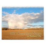 Escenas de la naturaleza en Ohio de nordeste para  Calendario De Pared