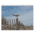 Escenas de la playa calendario de 19 meses 2011-20