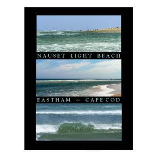 Escenas de la playa ligera de Nauset Postal