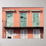 Escenas de New Orleans I Poster
