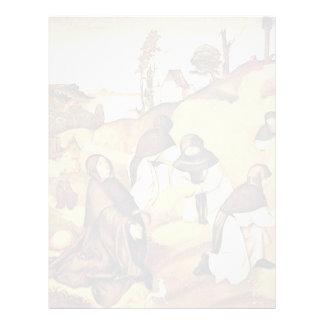 Escenas del altar de Bernhard a partir de la vida Membrete