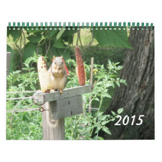 Escenas del calendario de la naturaleza