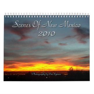 Escenas del calendario de New México 2010