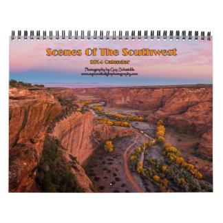 Escenas del calendario del sudoeste 2014