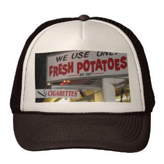 Escenas del cigarrillo y de la patata del Maine ju Gorros Bordados