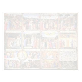 Escenas del Fra Angelico- a partir de la vida de C Membrete