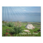 """Escenas e imágenes de la Tierra Santa de Israel Invitación 4.25"""" X 5.5"""""""