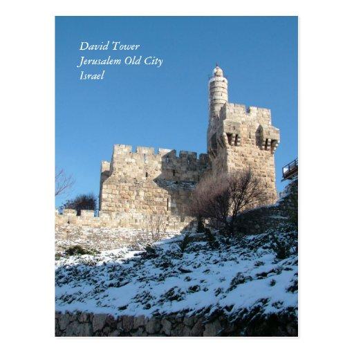 Escenas e imágenes de la Tierra Santa de Israel Postales