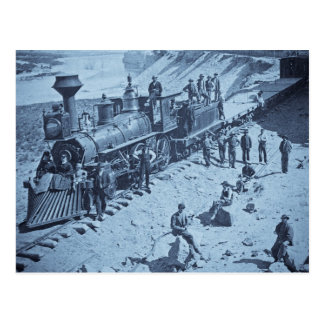 Escenas en el ferrocarril pacífico de la unión tarjetas postales