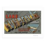 Escenas grandes de la letra - lago el Cumberland,  Postales