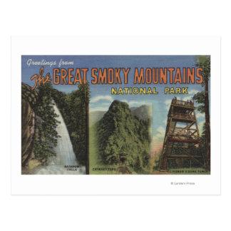 Escenas grandes de la letra - Mts ahumado. Parque Tarjetas Postales