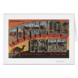 Escenas grandes de la letra - parque de Reynolds,  Tarjeta