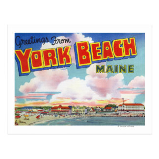 Escenas grandes de la letra saludos de tarjetas postales