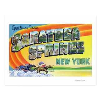 Escenas grandes de la letra - saludos de postales