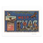 Escenas grandes (occidentales) de la letra de postales