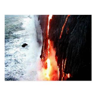 Escenas hawaianas tarjetas postales