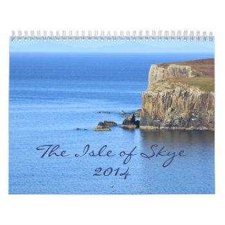 Escenas hermosas de la isla de Skye: 2014 Calendarios De Pared
