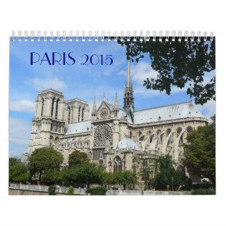 Escenas hermosas de París Calendarios De Pared