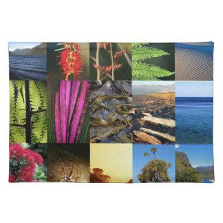 Escenas icónicas de la naturaleza de Nueva Zelanda Manteles
