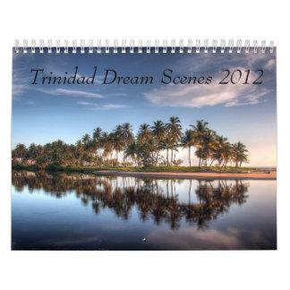 Escenas ideales de Trinidad por Wendell SJ Reyes Calendario De Pared