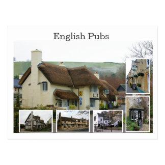 Escenas inglesas del Pub - modificadas para requis Postal