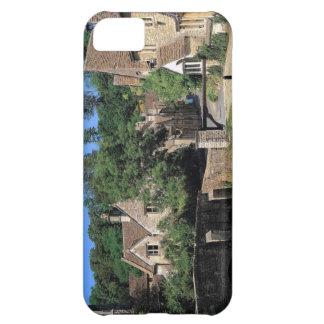 Escenas inglesas, pueblo del castillo de Corfe, Do Funda Para iPhone 5C