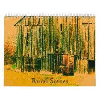 Escenas rurales calendarios
