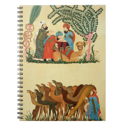 Escenas tomadas de un manuscrito del 'Maqamat de Libretas