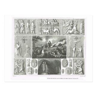 Escenas y símbolos religiosos, Oriente Próximo ant Tarjetas Postales