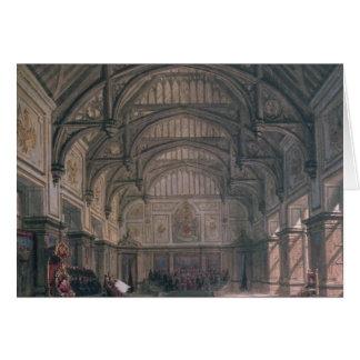 Escenografía para el acto III del juego 'Henry VII Tarjeta De Felicitación