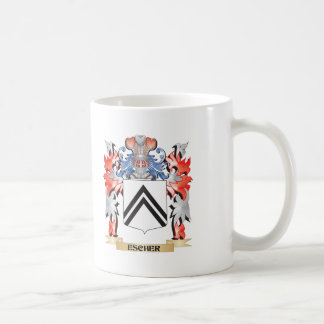 Escher Coat of Arms - Family Crest Coffee Mug
