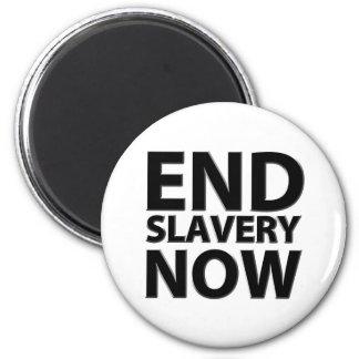 esclavitud del final ahora imán redondo 5 cm