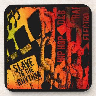 Esclavo al ritmo posavasos