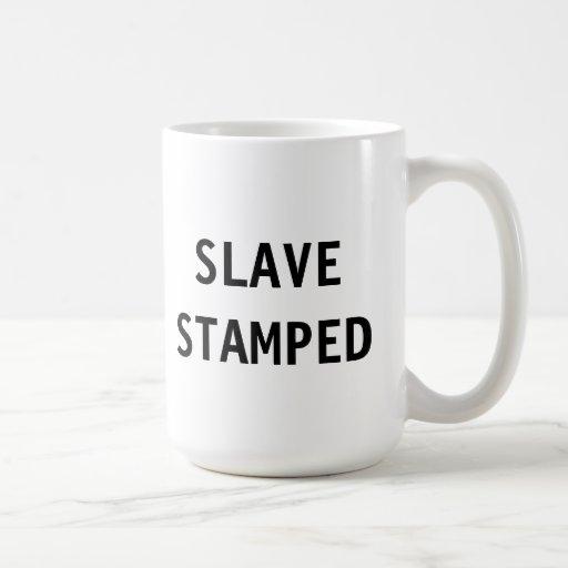 Esclavo de la taza sellado
