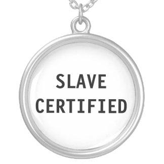 Esclavo del collar certificado