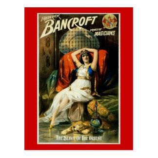 Esclavo del ~ de Bancroft del Oriente Postales