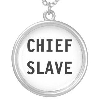 Esclavo del jefe del collar