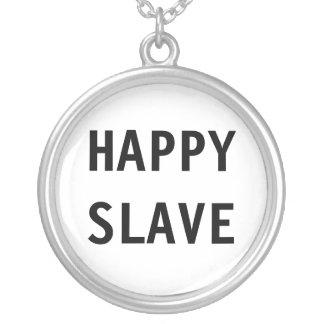 Esclavo feliz del collar