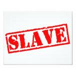 Esclavo Invitacion Personalizada