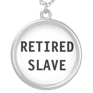Esclavo jubilado collar