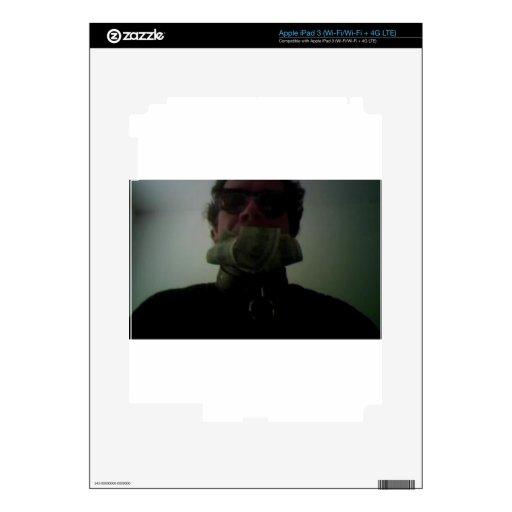 ESCLAVO OSCURO PEGATINAS SKINS PARA iPad 3
