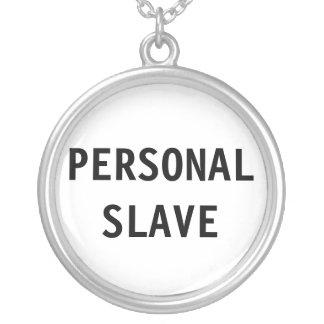 Esclavo personal del collar