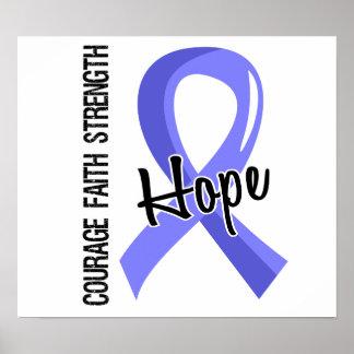 Escleroderma de la esperanza 5 de la fe del valor impresiones