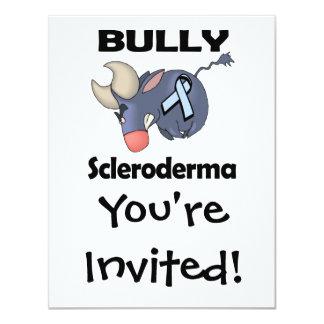 """Escleroderma del matón invitación 4.25"""" x 5.5"""""""