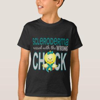 Escleroderma ensuciado con el polluelo incorrecto playera