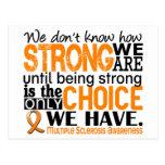 Esclerosis múltiple cómo es fuerte somos tarjetas postales